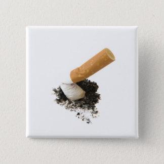 Quit Smoking 15 Cm Square Badge