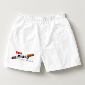 Quit Smoking Boxers