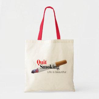 Quit Smoking Budget Tote Bag