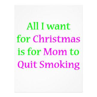 Quit Smoking Mom! 21.5 Cm X 28 Cm Flyer