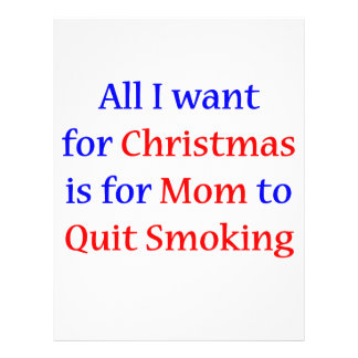 Quit Smoking Mom 2 Full Color Flyer
