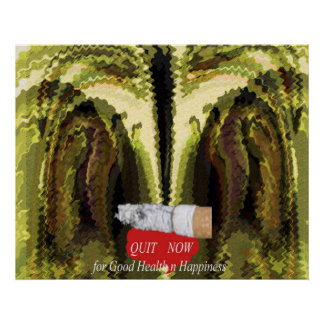 QUIT SMOKING NOW POSTERS