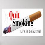 QUIT SMOKING PRINT