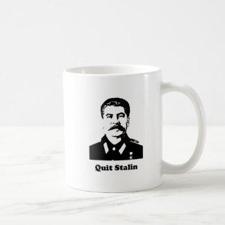 Quit Stalin Basic White Mug