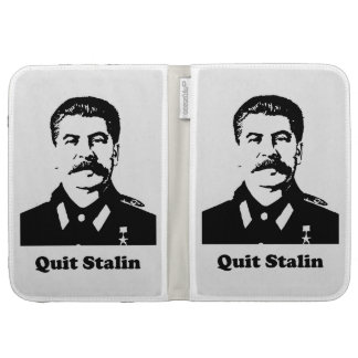 Quit Stalin Kindle Keyboard Case
