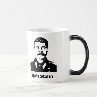 Quit Stalin Morphing Mug