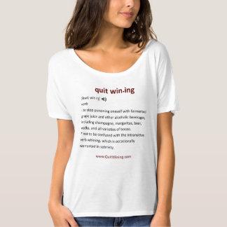 Quit Wining Slouchy Boyfriend T-Shirt