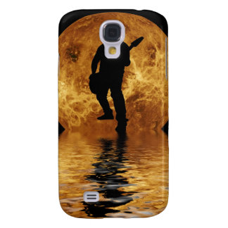 quitarist on moon surface galaxy s4 covers