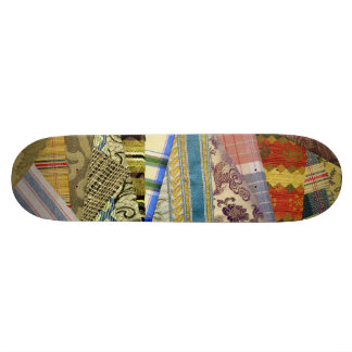 Quite Crazy Quilt 21.3 Cm Mini Skateboard Deck