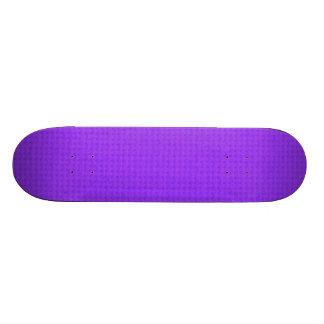 Quited Violet 18.1 Cm Old School Skateboard Deck
