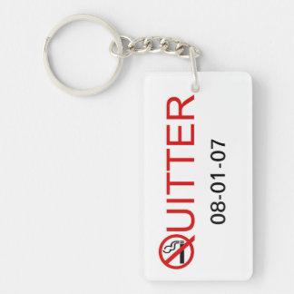 Quitter Keychain