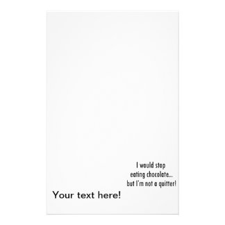 Quitter Stationery Paper