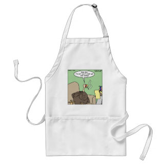 Quittng Smoking Cold Turkey Funny Gifts & Tees Standard Apron