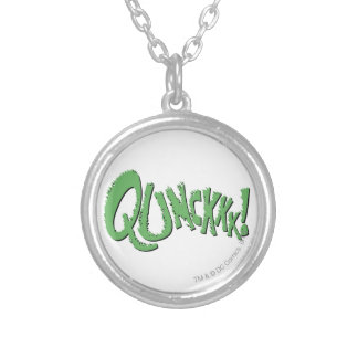 QUNCKKK! SILVER PLATED NECKLACE