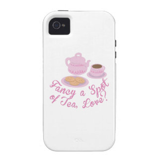 """""""English Tea Time Fancy a Spot of Tea, Love?& iPhone 4/4S Covers"""