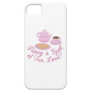 """English Tea Time Fancy a Spot of Tea, Love?& iPhone 5 Case"
