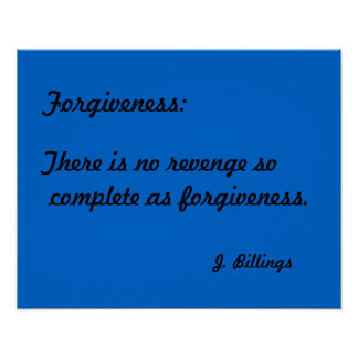 "Quotation Posters  ""Forgiveness"""