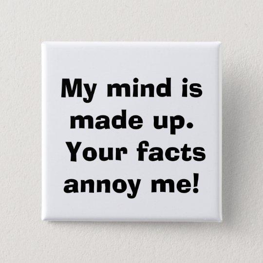 quote 15 cm square badge