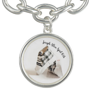 Quote and print bangle bracelet