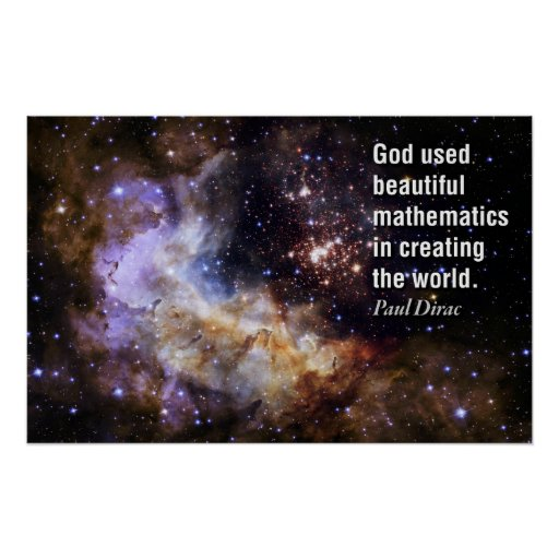 Quote by Paul Dirac - Math Posters