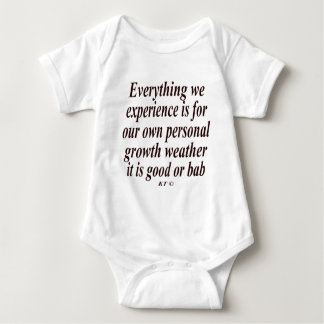 Quote for personal growth tee shirts