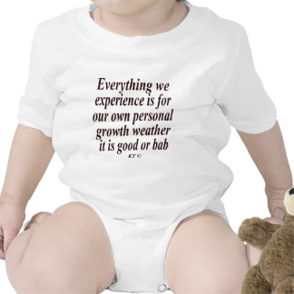 Quote for personal growth shirt