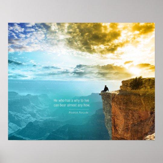 Quote Friedrich Nietzsche Nature Adventure Nature Poster