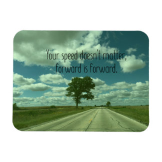 Quote magnet, Inspirational quote, Illinois Rectangular Photo Magnet