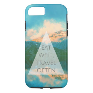 Quote marries travel iPhone 8/7 case
