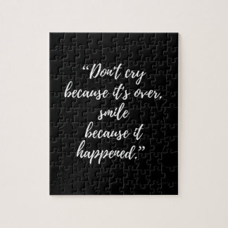 Quote Puzzle Gift box Inspirational Day Quote