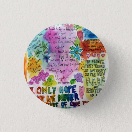 Quotes 3 Cm Round Badge