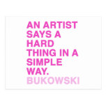 Quotes by Charles Bukowski Postcards