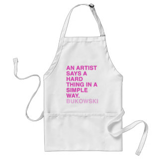 Quotes by Charles Bukowski Standard Apron