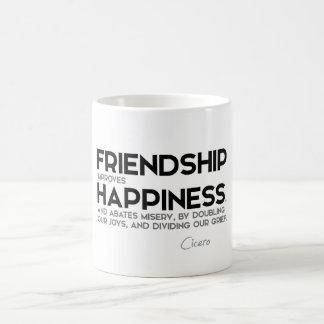 QUOTES: Cicero - Friendship Coffee Mug