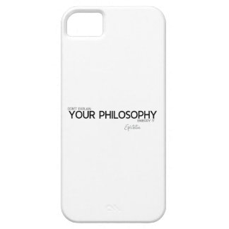 QUOTES: Epictetus: Your philosophy Case For The iPhone 5