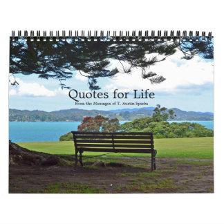 Quotes for Life Calendar Option E