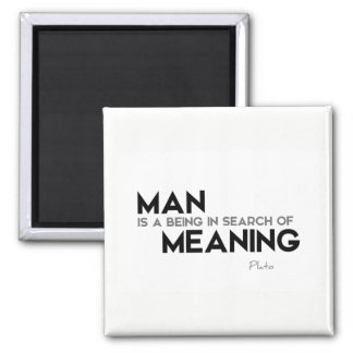 QUOTES: Plato: Search of meaning Magnet