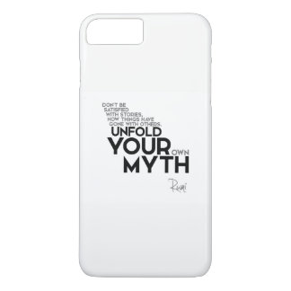QUOTES: Rumi: Unfold your myth iPhone 7 Plus Case