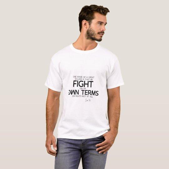 QUOTES: Sun Tzu: Great soldier T-Shirt