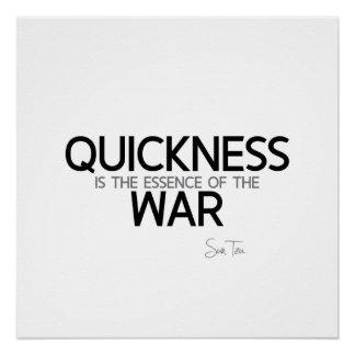 QUOTES: Sun Tzu: Quickness