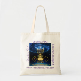 Quotes - The Atlantis Grail - Budget Tote