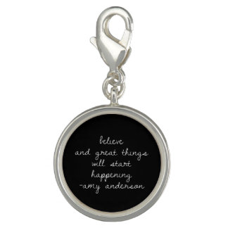 Quotes With Meaning Round Bracelet Charm Charm Bracelet
