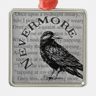 Quoth the Raven Christmas Ornament