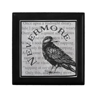 Quoth the Raven Small Square Gift Box