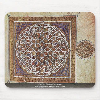 Qur An Scene Ornament By Arabischer Maler Um 1180 Mouse Pad