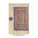 "Quran From Arghã N Shâh Scene Ornament "" Postcard"