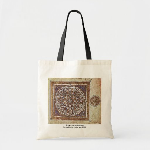 Qur'An Scene Ornament By Arabischer Maler Um 1180 Bag