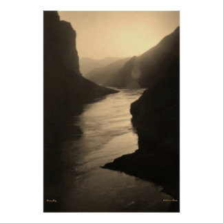 Qutang Gorge River Poster
