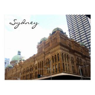 qv bldg sydney postcard