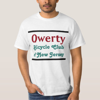 Qwerty Bicycle Club Tee Shirts